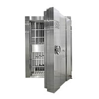 China Supplier Steel And Stainless Steel Safe Bank Security Vault Door Strong Room Panel