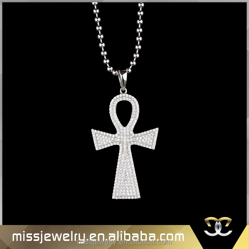 china suppliers jewelry indian design silver ankh charm, custom made metal logo charms