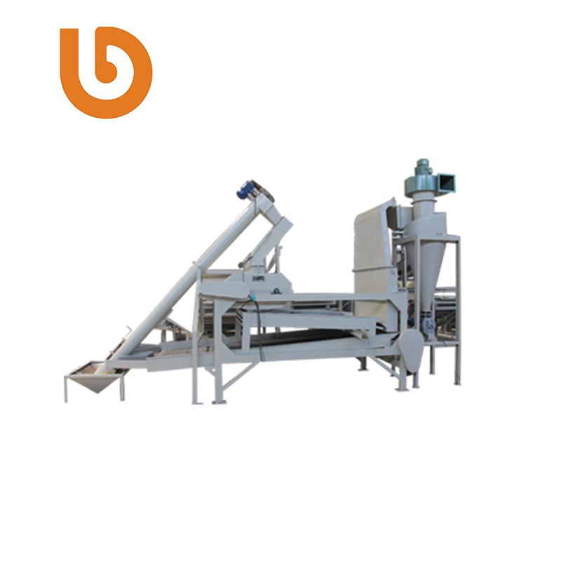 Grains separator pumpkin seed hulling machine