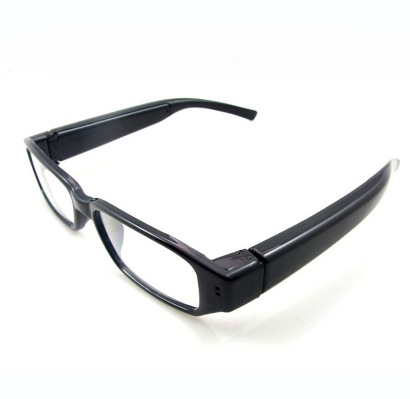HD 720 Double-Button Eyewear SPY Glass <strong>Camera</strong> for Security Surveillance