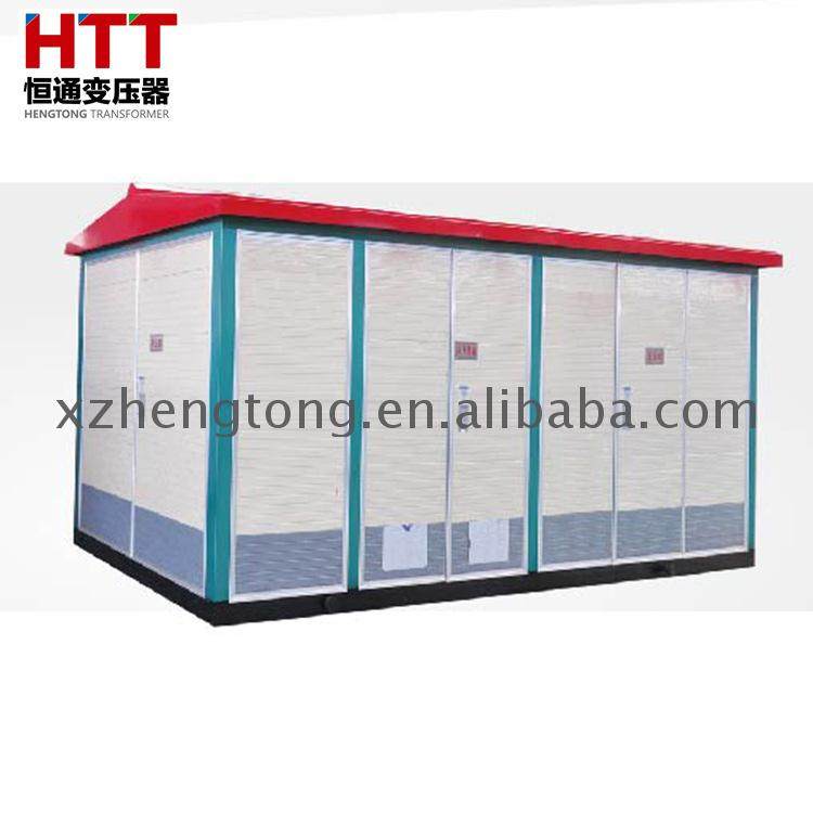 160kva outdoor movable prefabricated substation