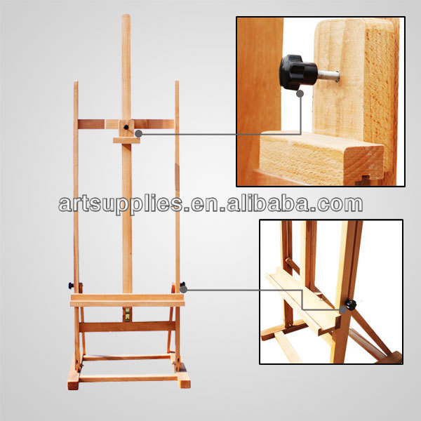 Wooden small easel drawing stand