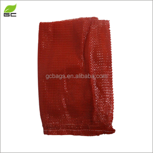 Drawstring selling packaging bag onion/ Vegatable/fruit/firewood mesh bags