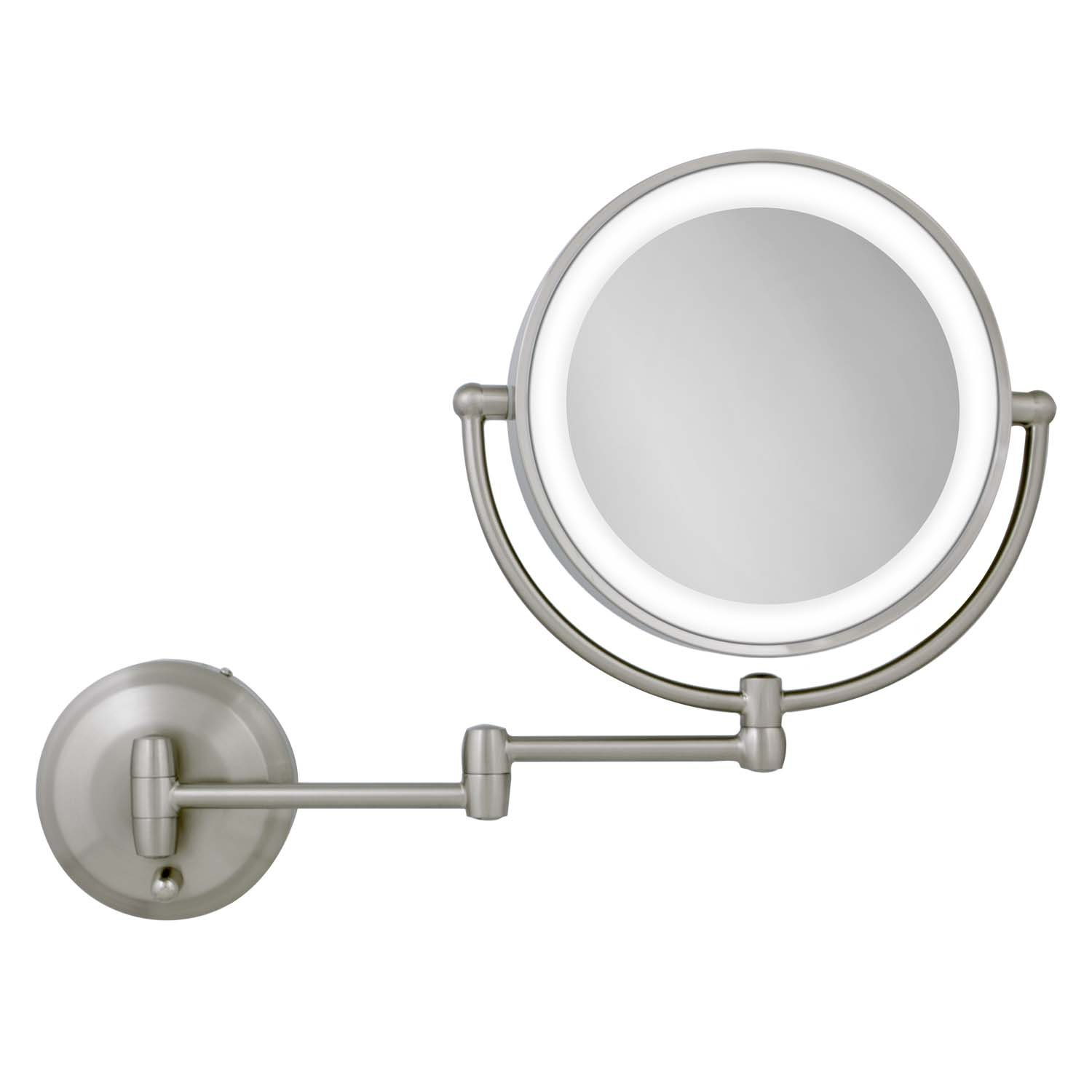 Buy Zadro Led Lighted Wall Mount Mirror 1x To 10x Model