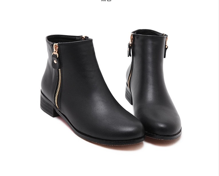 b05ca2925d7a Get Quotations · New Women Hot 2015 Autumn Winter Black Elasticated Panels Chelsea  Martin Boots Sexy British Ankle Booties