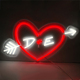 Better visual effect custom design led acrylic love neon sign
