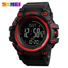 SKMEI часы для мужчин 2020 Топ люксовый бренд компас спортивные часы электронные цифровые 12/24 часы наручные часы мужские шагомер мужские часы(Китай)