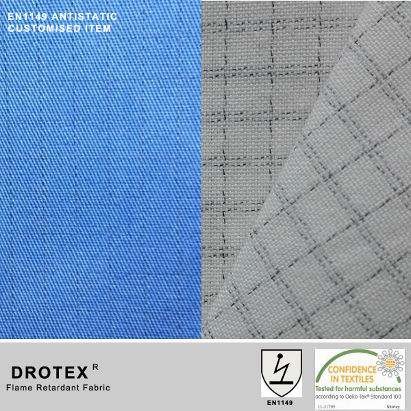 Combed Cotton Fabric Antistatic Performance