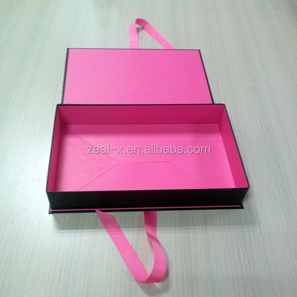 Fashion Luxury Folding Paper Box For Dress Shirt Packaging