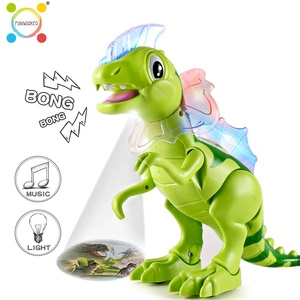 High quality cute spinosaurus dinosaur music sound electronic toy with projection