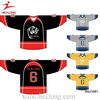 Custom Ice Hockey Jersey Team Set Cheap 6xl Hockey Jersey Shirts