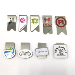 High Quality Various Designs Customized Note book mark Metal Clip