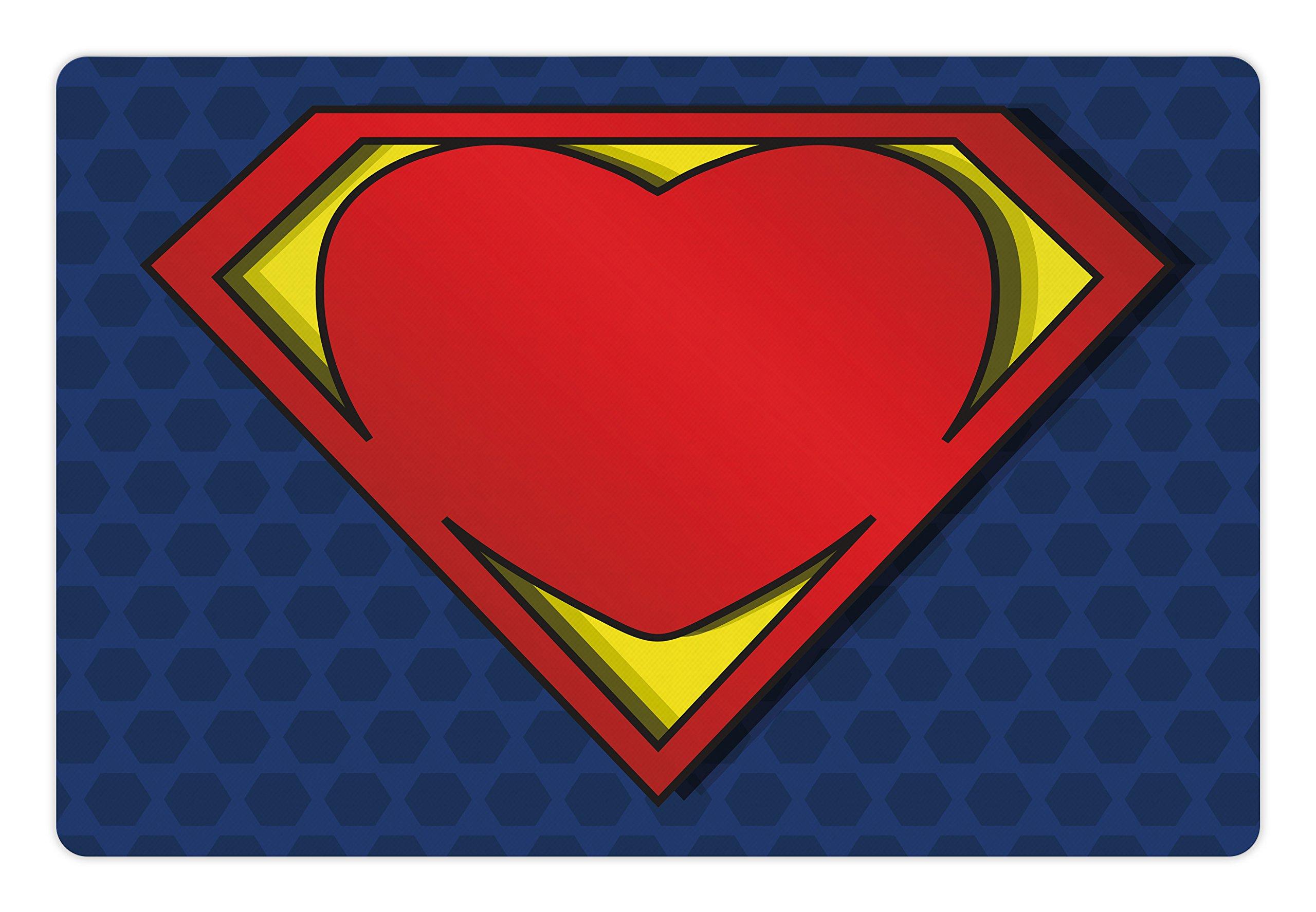 Открытка супер героев