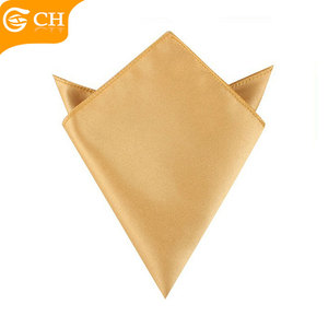 Fashion Designer Satin custom handkerchief for little boys