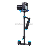 YELANGU S60T 38.5-61cm Carbon Fiber Handheld Stabilizer Steadicam for DSLR & DV Digital Video & Cameras