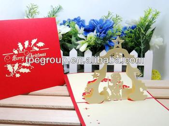 Popular design christmas cardhandmade pop up 3d christmas greeting popular design christmas cardhandmade pop up 3d christmas greeting cards m4hsunfo