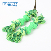 FX0038T High Quality Pet With TPR Bone Rope Toys Durable Teeth Clean Toys For Dogs