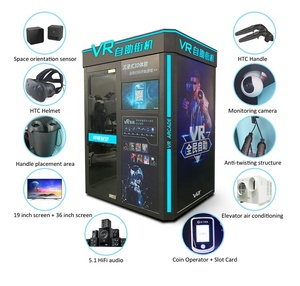 VART Longcheng Self-service Arcade Escape Room 9D Simulator Shooting VR