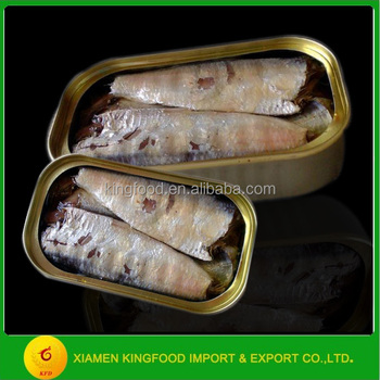 125g Can Sardine Range Size Canned Sardine In Soybean Oil