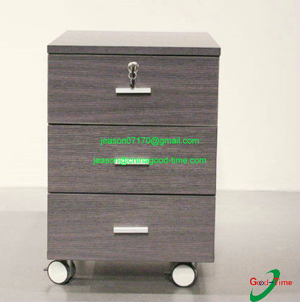 walnut color chest of drawers lock