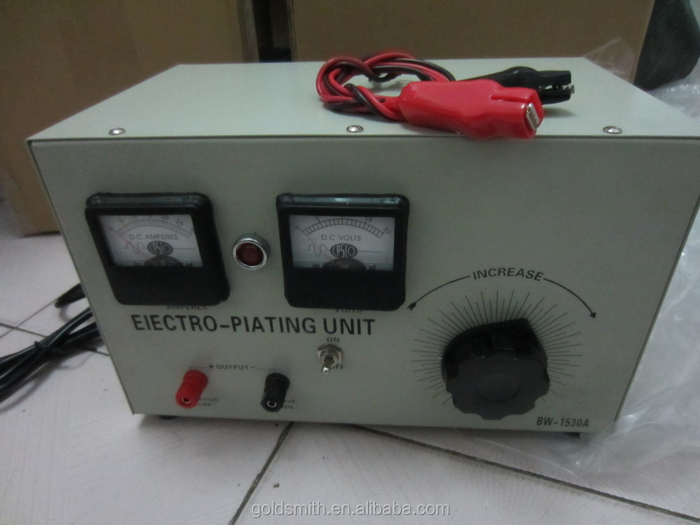 mini plating machine for chrome&zinc&nickel&gold&copper plating, electro-plating unit, electro plating rectifier