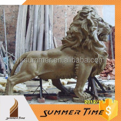 Hot modern top-ranking lion clay model
