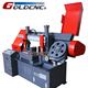 New horizontal saw machine,GB4228X angle cut 45 degree band saw machine for metal cutting,metal band sawing machine,
