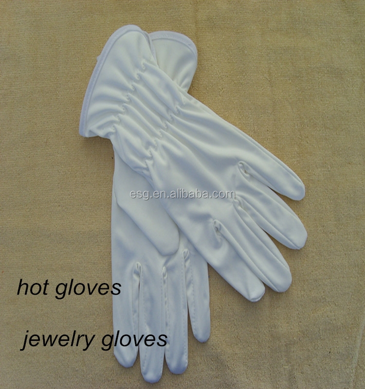 microfiber fabric cleaning gloves from China factory