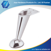 HIGH QUALITY STANDARD CHROME PLATED FURNITURE METAL SOFA LEGS