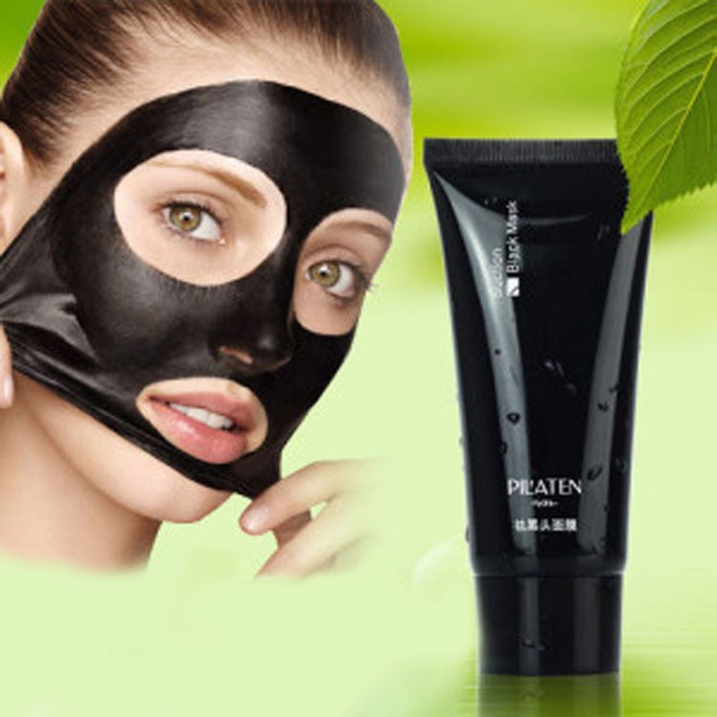 blackhead remover Tearing style Deep Cleansing purifying peel off the Black head,acne treatment,black mud face mask 60g
