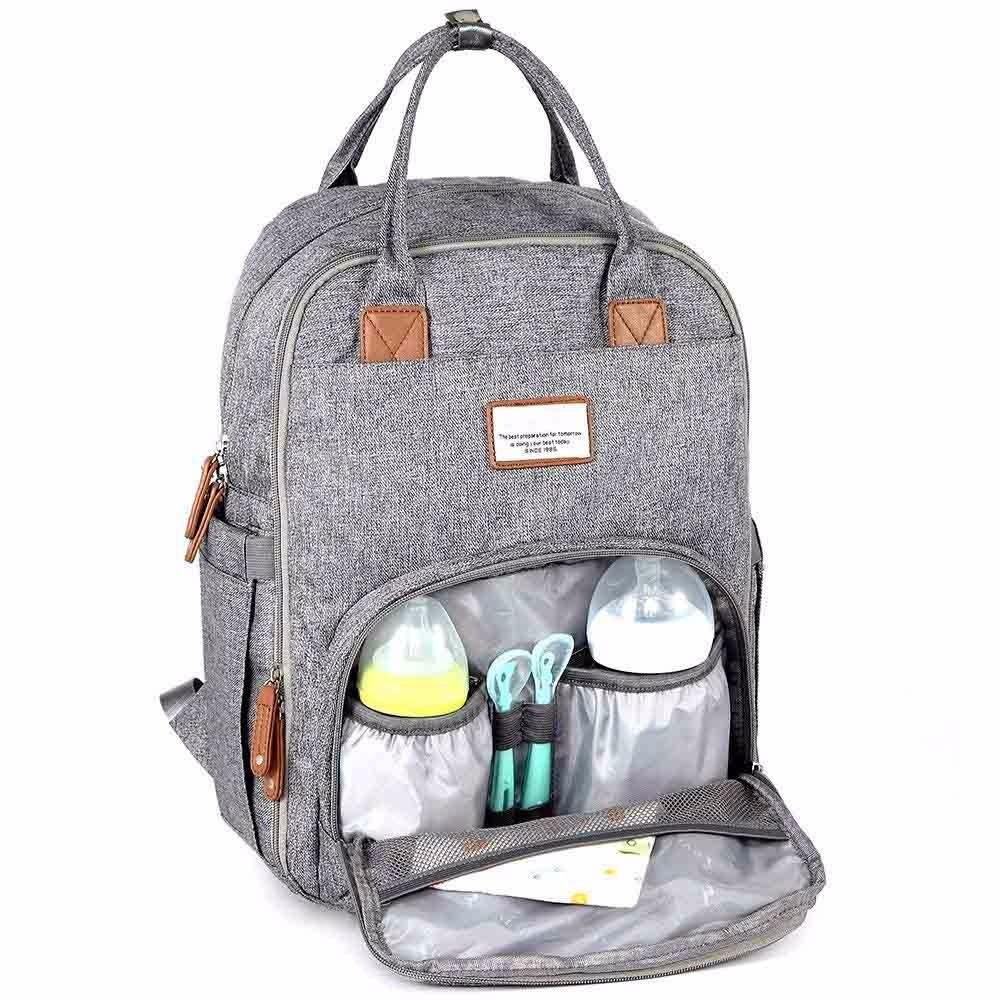 193d966394d8 Canvas Backpack Diaper Bag- Fenix Toulouse Handball