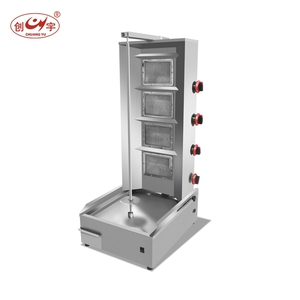 Chuangyu Good Price Meat Kebabs Making Machinery Commercial Shawarma Grill Machine
