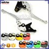 BJ-LS-009 3D CNC Adjustable Folding Aluminum Motorcycle Hand Brake Lever for Kawasaki Z1000