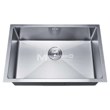 American Standard 304 Single Bowl Undermount Stainless Steel Wastafel Dapur dengan Drainer
