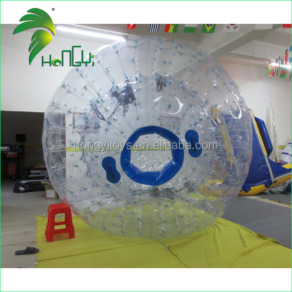 Exciting Custom Game Use Cheap Durable Inflatable Zorb Balls for People