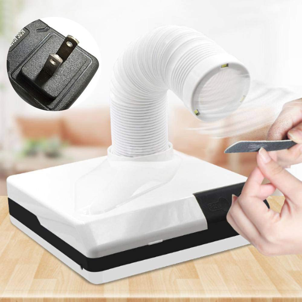 Euone  Christmas Clearance , 60W Nail Salon Suction Dust Remover Collector Vacuum Cleaner Manicure Machine