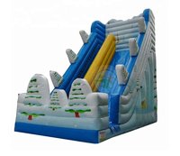 JMQ-B1058 Inflatable wipeout bouncer game inflatable playground frozen minion jumper castle inflatable bouncer