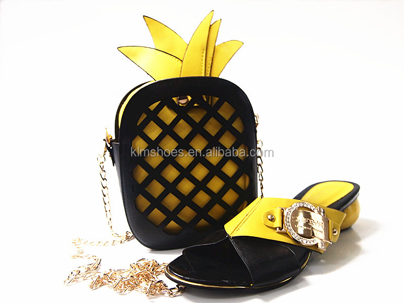 Shoes And Set Bag New Bag Party Chain Fashion Wholesale Coming Set And African Lady Bag Shoes For G15 Set nvvr01wzOq