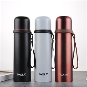 17OZ Insulated Double Wall Vacuum Stainless Steel Water Bottle Keeps Drinks Hot for 12 Hours and Cold 500ml