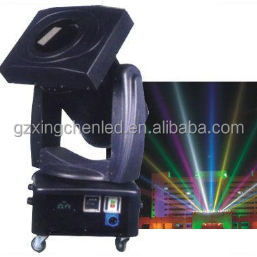 xenon lamp 4KW--5KW moving head color changing outdoor sky search light/sky tracker light