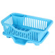 Top Sell Factory dinnerware Price storage holders colorful plastic dish rack