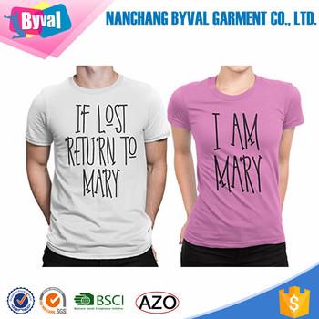 f98a46656 Amazing Couple t-shirt 100% Cotton Honeymoon t shirt Funny t shirt printing  custom
