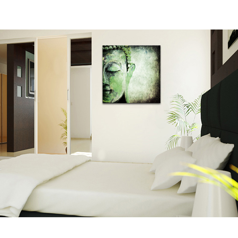 1 Panel Religious Painting Custom Canvas Art Print Hd Buddha Canvas ...