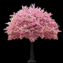 Pink artificial cherry blossom tree with competitive price