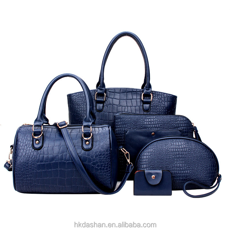 Y271 handbags ladies 2018 western style popular classical lady bags handbag  4pcs in 1 women hand bag 1f4f079f44901