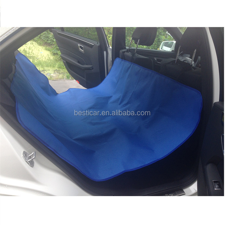 Custom Color Polyester Oxford 600D Hammock Designed for Pets Waterproof Car Seat Cover