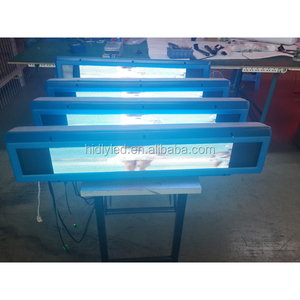 LED Car Window Message Sign Taxi Cab Advertising Sign