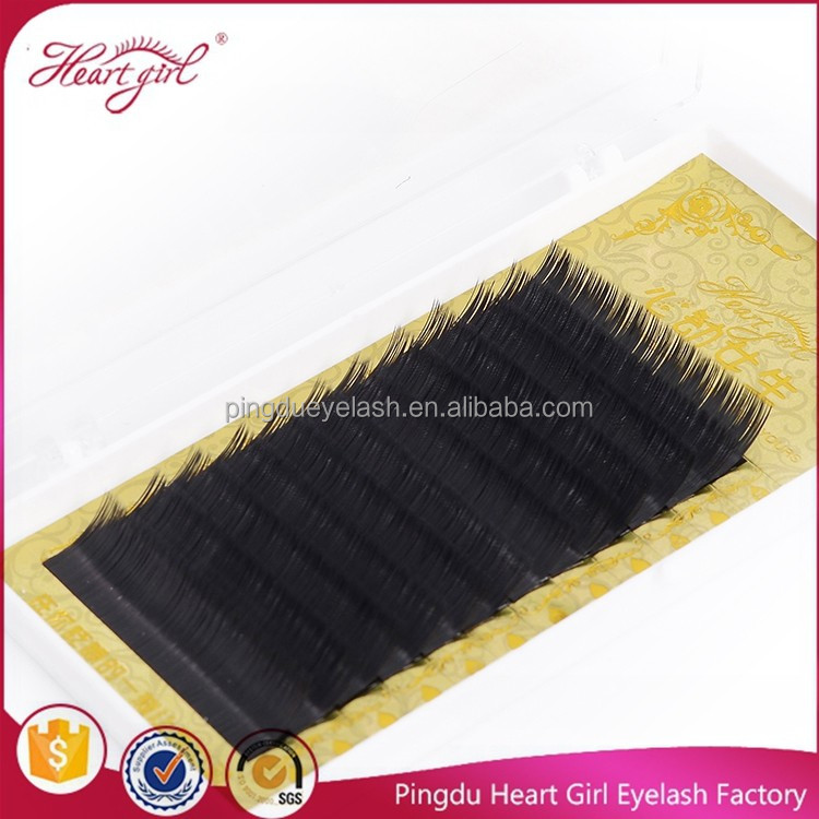 Hot sale hand made individual eyelashes