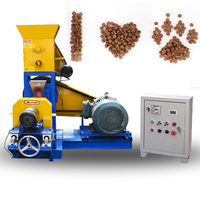 120kg/h dog food making machine, extruder for pet food