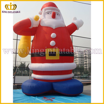 xmas holiday lowes inflatable santa claus large commercial christmas decoration inflatables - Lowes Blow Up Christmas Decorations
